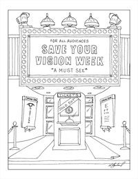 movie theater coloring pages - photo#5
